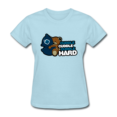Cuddle Hard Women's T-Shirts