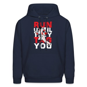 RUN TAG - Men's Hooded Sweatshirt - Men's Hoodie
