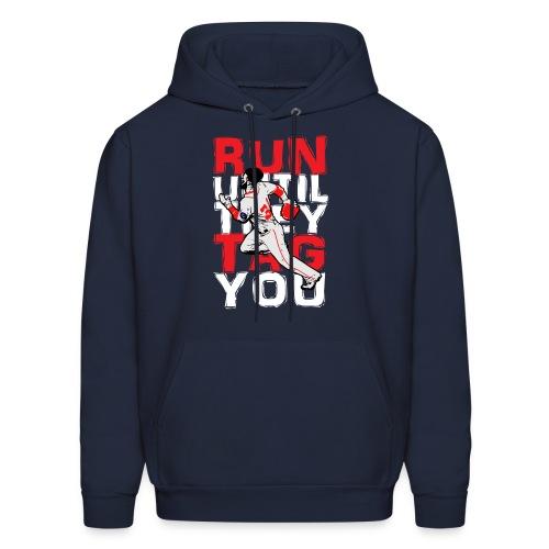 RUN TAG - Men's Hooded Sweatshirt - Men's Hoodie
