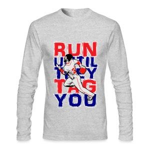 RUN TAG - Men's AA Long Sleeve - Men's Long Sleeve T-Shirt by Next Level