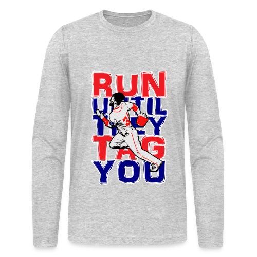 RUN TAG - Men's AA Long Sleeve - Men's Long Sleeve T-Shirt by Next Level