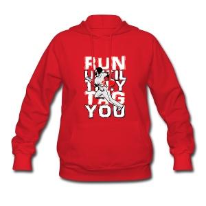 RUN TAG - Women's Hooded Sweatshirt - Women's Hoodie