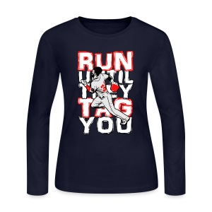 RUN TAG - Women's Long Sleeve - Women's Long Sleeve Jersey T-Shirt