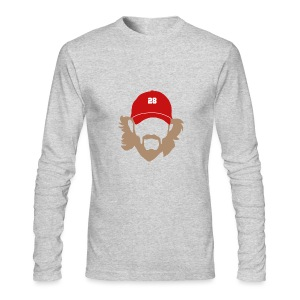 Beard - Men's AA Long Sleeve - Men's Long Sleeve T-Shirt by Next Level