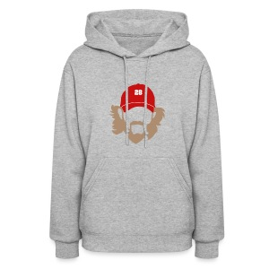 Beard - Women's Hooded Sweatshirt - Women's Hoodie