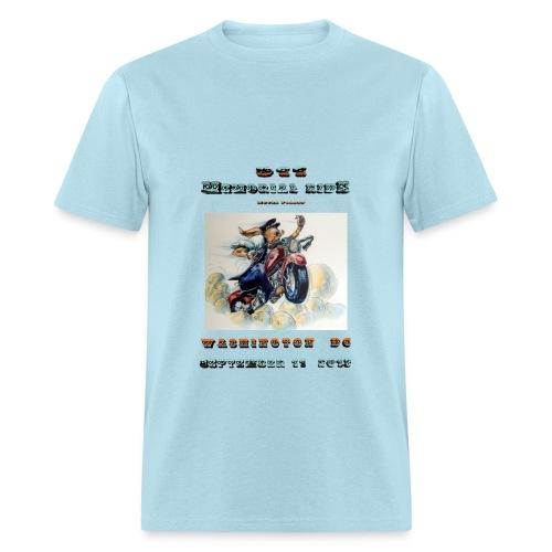 911 Motorcycle Memorial Ride to Washington DC Sept 11,2103  T-shirt - Men's T-Shirt
