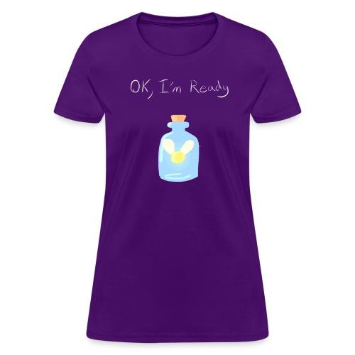 Women's I'm ready shirt - Women's T-Shirt