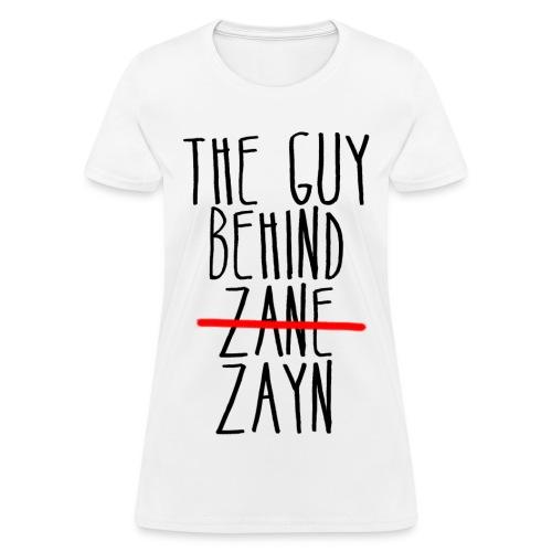 The Guy Behind Zayn Women's Standard Weight T-Shirt - Women's T-Shirt