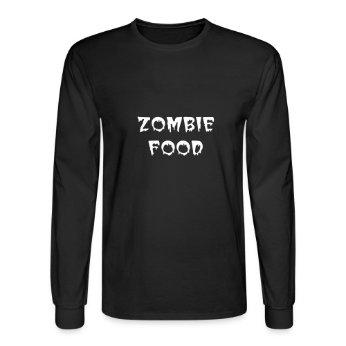 ZOMBIE BOOK CHICK - Men's Long Sleeve T-Shirt