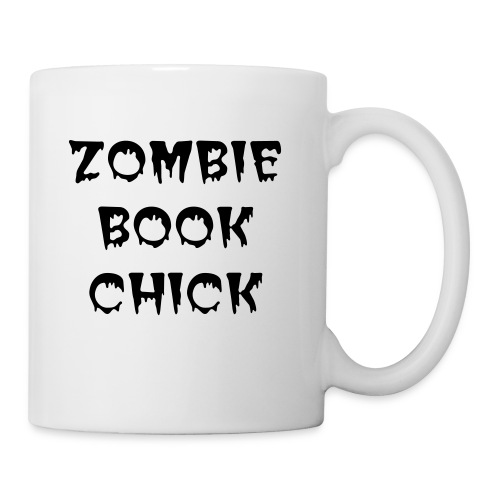 ZOMBIE BOOK CHICK - Coffee/Tea Mug