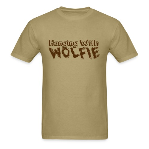 Hanging With Wolfie - Men's T-Shirt