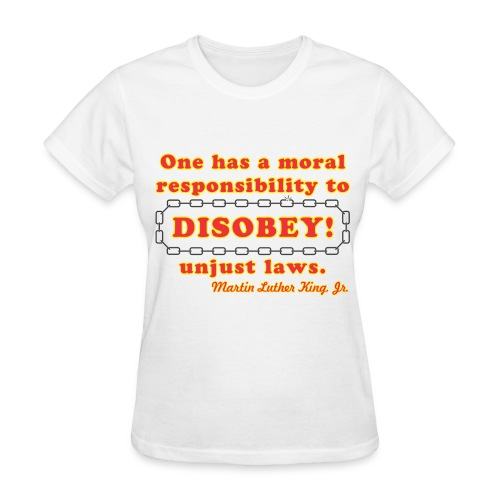disobey king f - Women's T-Shirt