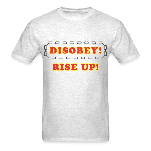 disobey rise up - Men's T-Shirt