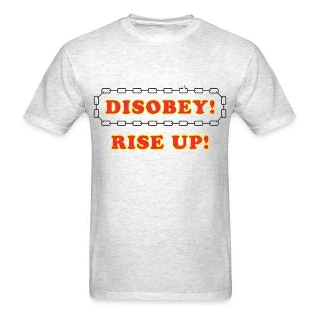 disobey rise up