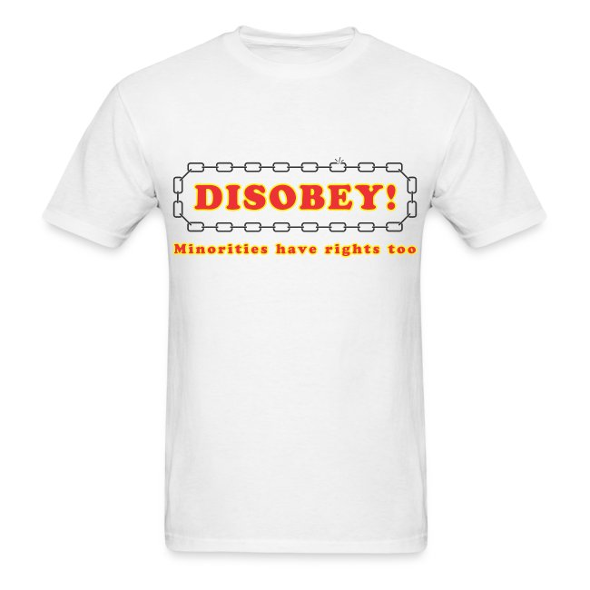 disobey minority rights