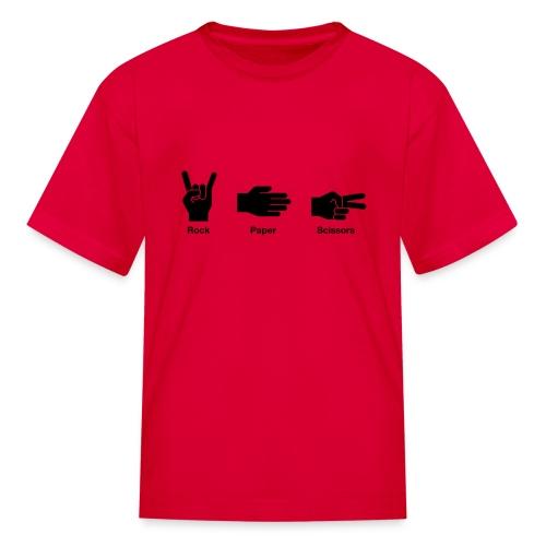 Rock, Paper, Scissors - Kids' T-Shirt