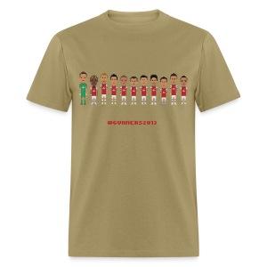 Men T-Shirt #Gunners2013 - Men's T-Shirt