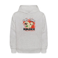 Sweatshirts ~ Kids' Hoodie ~ Cute Little Murderer