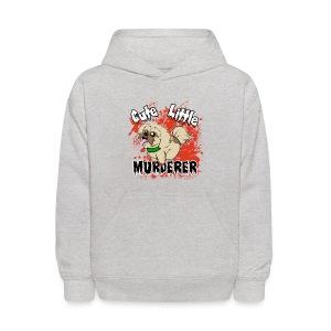 Cute Little Murderer - Kids' Hoodie