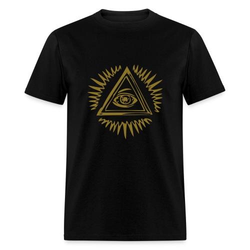 Luminated Eye - Men's T-Shirt