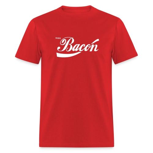 Enjoy Bacon - Men's T-Shirt