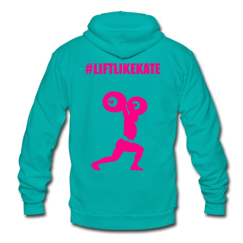 ZIPPY ZIP PINKHOODIE - Unisex Fleece Zip Hoodie