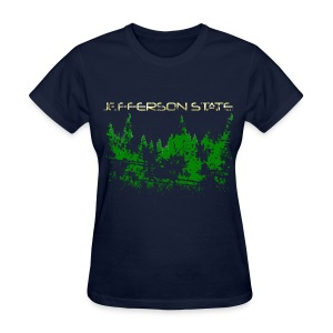 Women's Jefferson State T-Shirt (distressed) - Women's T-Shirt
