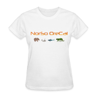 T-Shirts ~ Women's T-Shirt ~ NorSo OreCal Predator T-Shirt