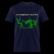 T-Shirts ~ Men's T-Shirt ~ Men's Jefferson State T-Shirt (distressed)