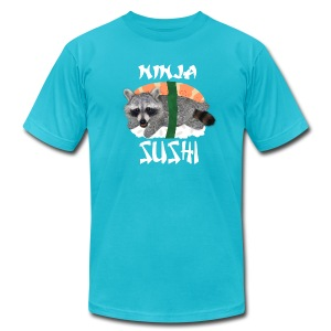 DFTM- Ninja Sushi - Men's T-Shirt by American Apparel