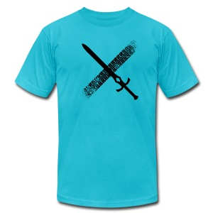 DFTM- Sword - Men's Fine Jersey T-Shirt