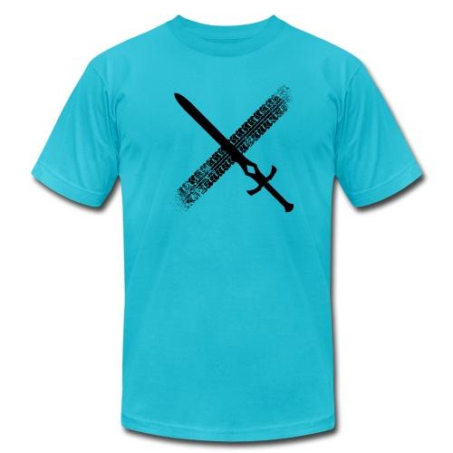 DFTM- Sword - Men's Fine Jersey T-Shirt