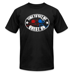 DFTM- Quest On - Men's Fine Jersey T-Shirt