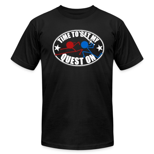 DFTM- Quest On - Men's Fine Jersey T-Shirt