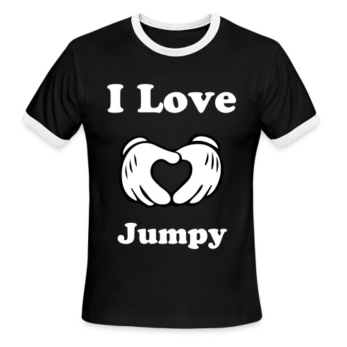 Jumpy! - Men's Ringer T-Shirt