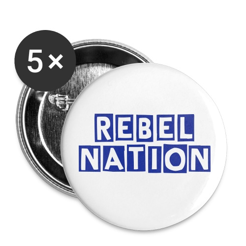 The Rebel Nation Pin - Small Buttons