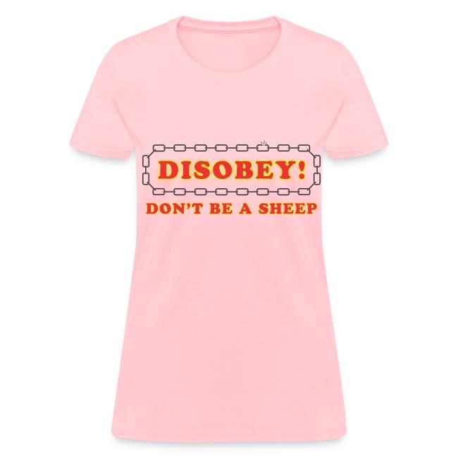 disobey sheep f