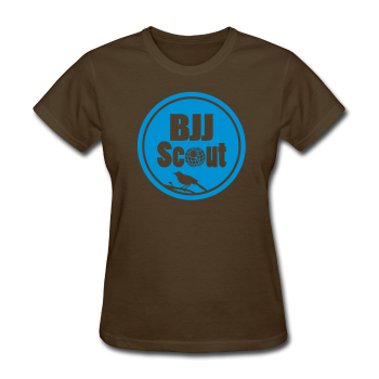 Women's Basic BJJ Scout Tee (Stencil) - Women's T-Shirt