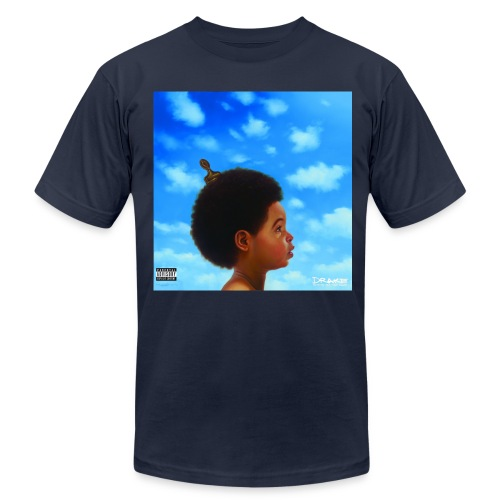 CLOUDS AND RAP - TSHIRT - Men's Fine Jersey T-Shirt