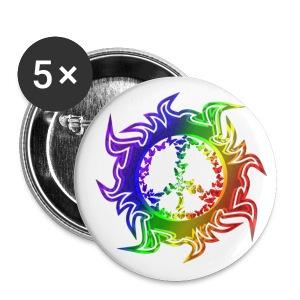 RainbowPeace - Large Buttons