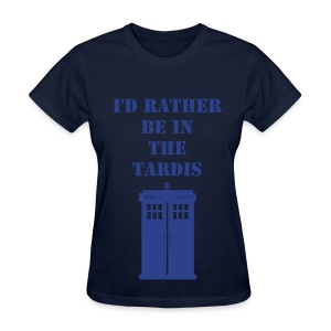 TARDIS - Women's T-Shirt