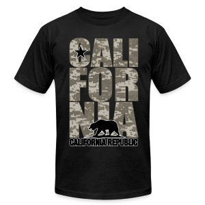 Men's Limited Edition Cali For Nia - Military Edition - Tee - Men's T-Shirt by American Apparel