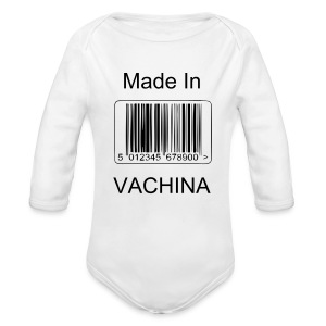 Vachina - Long Sleeve Baby Bodysuit