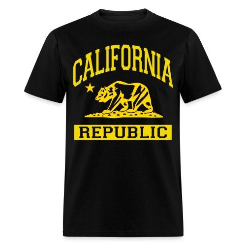 Men's Cali Yellow Tee - Men's T-Shirt