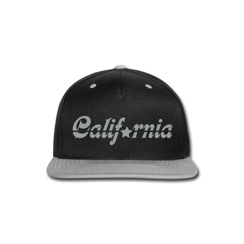 Hat - California - Snap-back Baseball Cap