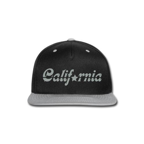 Hat - California - Snap-back Baseball Cap