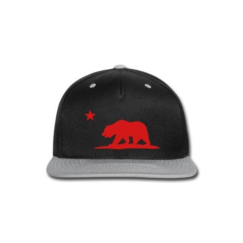 Hat - Gray - Snap-back Baseball Cap