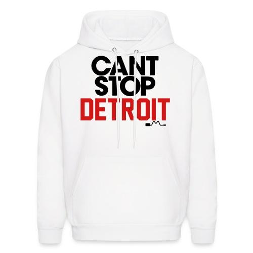 Cant stop Detroit - Men's Hoodie