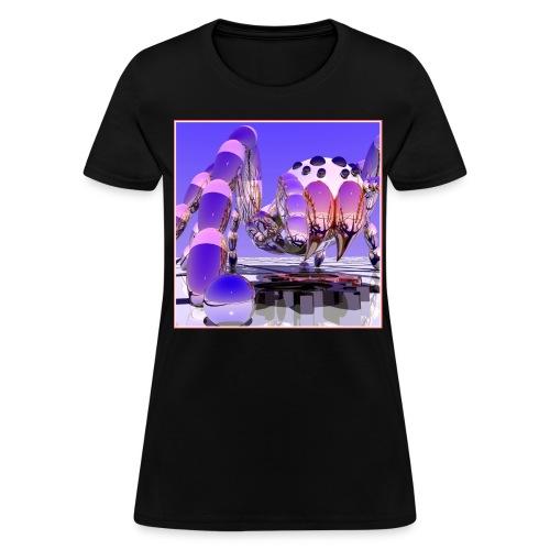 Silver Tarantula 3 - Women's T-Shirt
