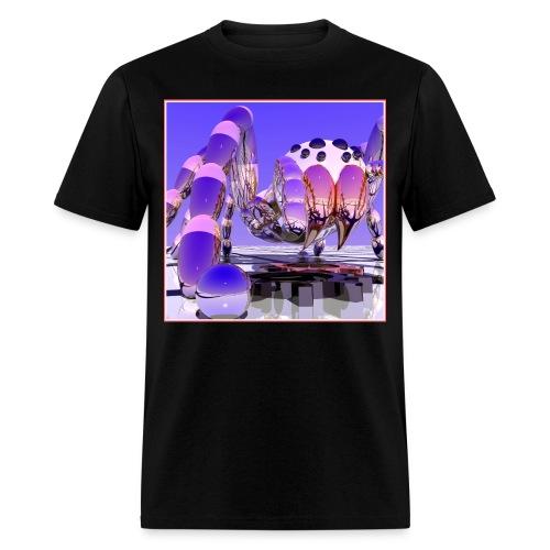 Silver Tarantula 3 - Men's T-Shirt